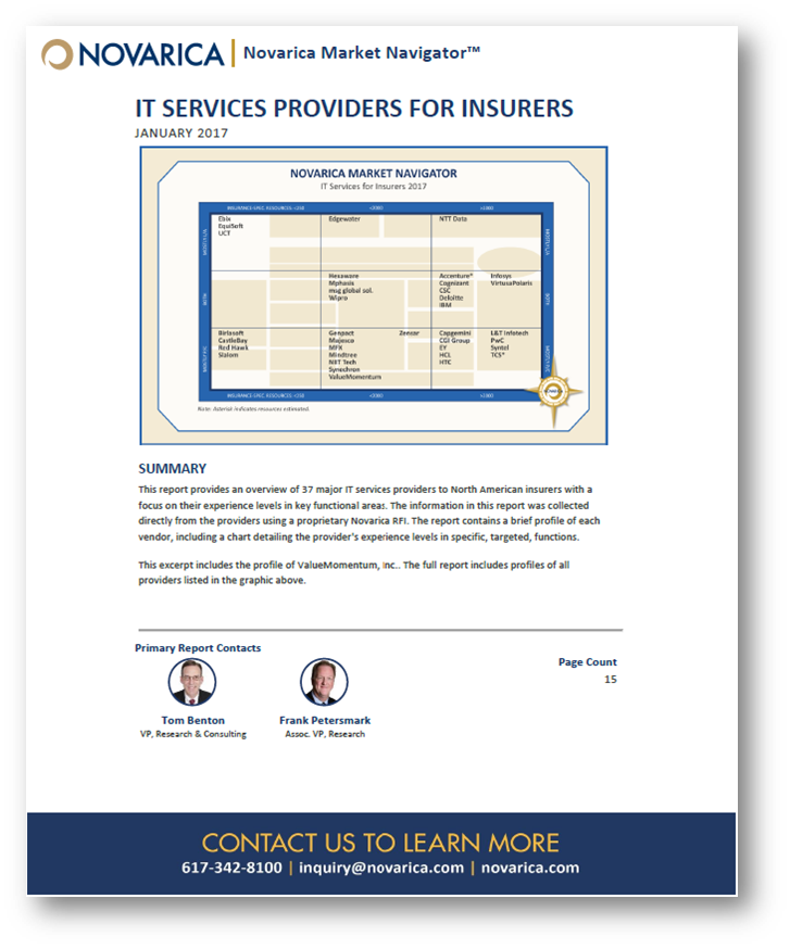 Novarica Market Navigator - IT Services Providers for Insurers.png