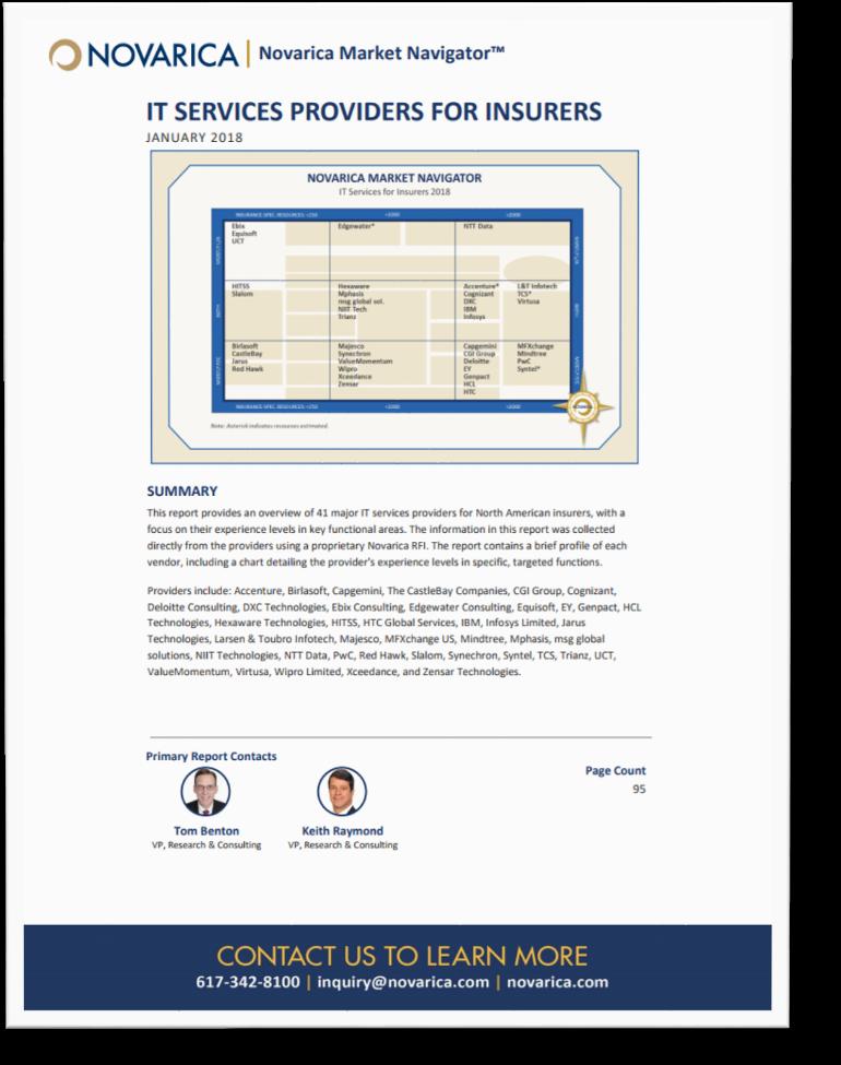 Novarica Market Navigator 2018 - IT Services Providers for Insurers-1.png